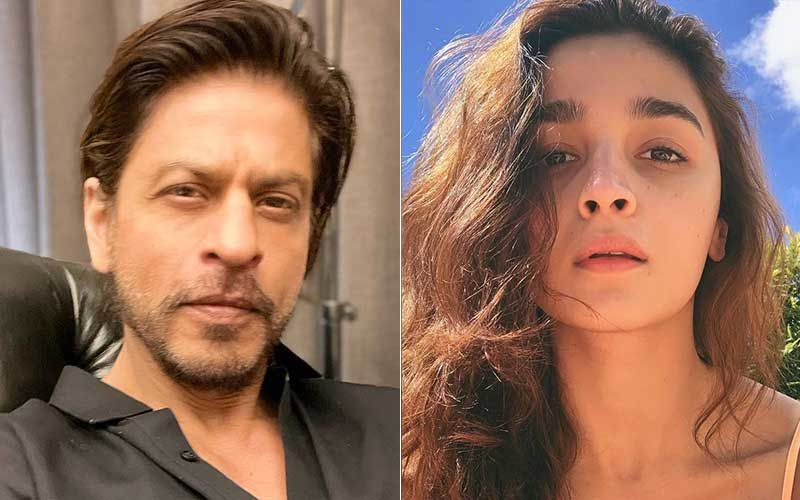 Shah Rukh Khan Asks 'Little One' Alia Bhatt To Sign Him Up For Her Next Home Production; SRK Promises Actress He 'Will Come In Time For The Shoot And Be Very Professional'