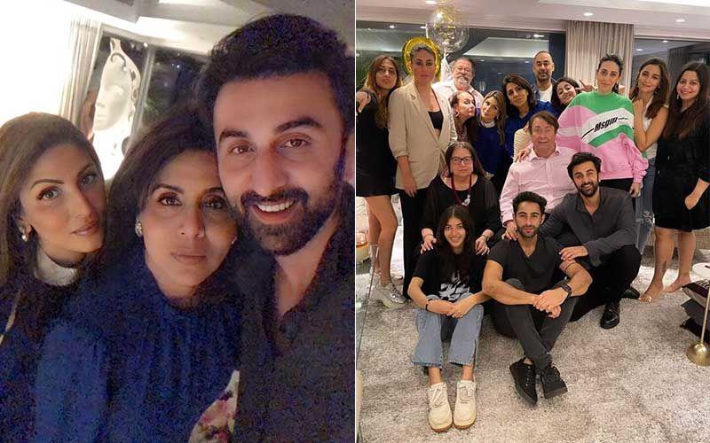 Neetu Kapoor's Birthday: Ranbir Kapoor, Riddhima Kapoor Sahni, Alia Bhatt, Kareena-Karisma Kapoor Attend Dinner Party - Inside PICS
