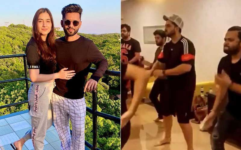 Rahul Vaidya-Disha Parmar Wedding: Aly Goni Attends Dance Rehearsals With Singer's Friends; Groomsmen Try Outfits-WATCH Video