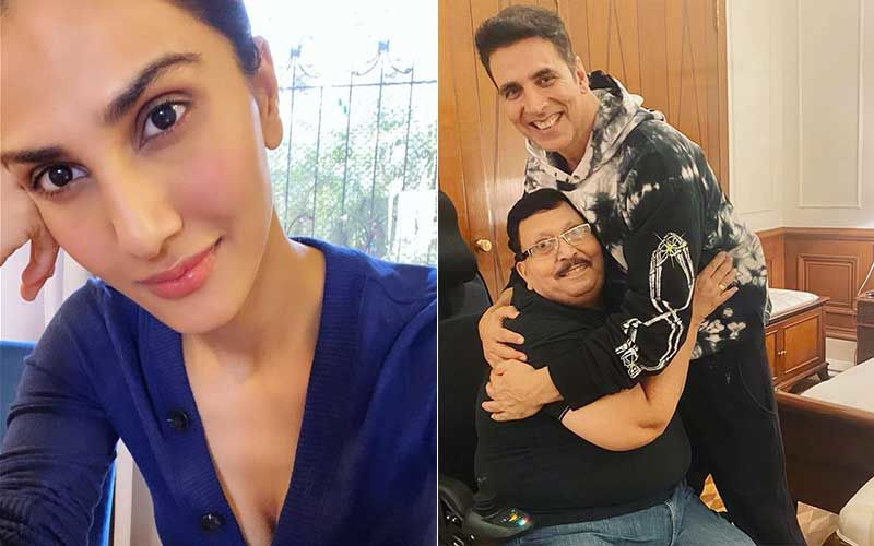 Vaani Kapoor Captures Her Dad's Fan Moment With Her Bell Bottom Co-Star Akshay Kumar; Actress Says 'Moments Like These Make Memories For Life'