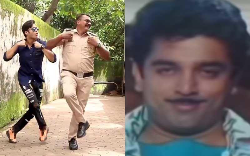 Mumbai Cop Dances To The Beats Of Kamal Haasan's Song 'Aaya Hai Raja'; His Cool Moves Are Unmissable-WATCH Video