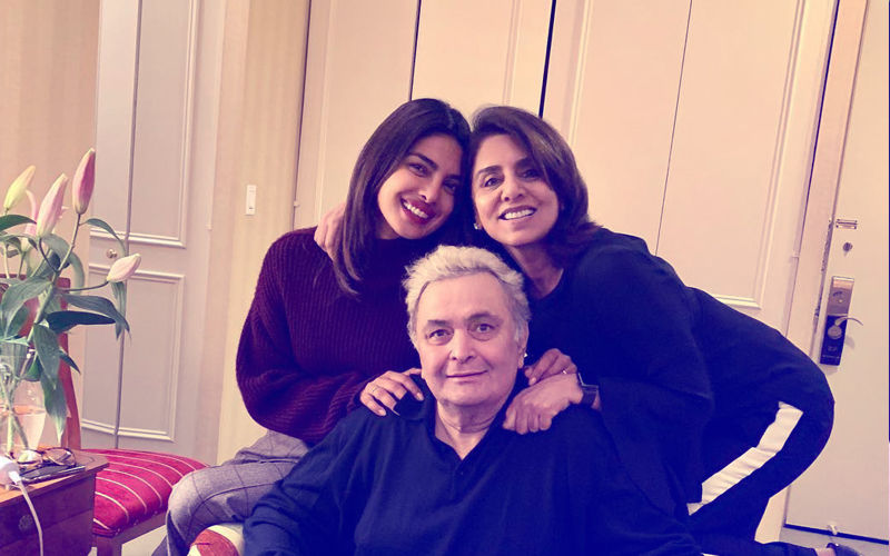 Priyanka Chopra Meets Ailing Rishi Kapoor In New York