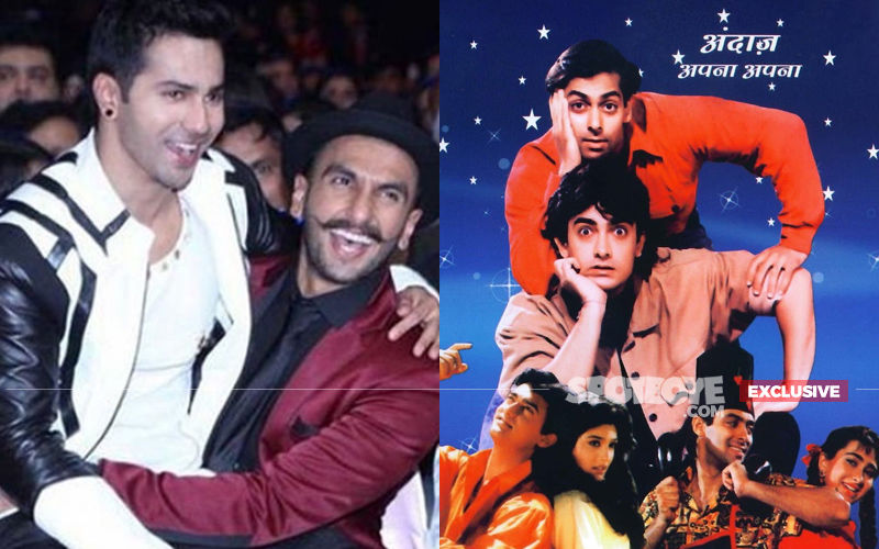 "NO Ranveer Singh, NO Varun Dhawan In Andaz Apna Apna 2. ""Wish People Call Me Before Writing,"" Producer Sighs!"