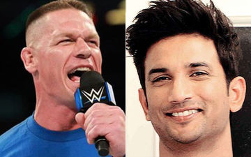 WWE Star John Cena Shares A Picture OF Sushant Singh Rajput Without A Caption; Fans Wonder Why?