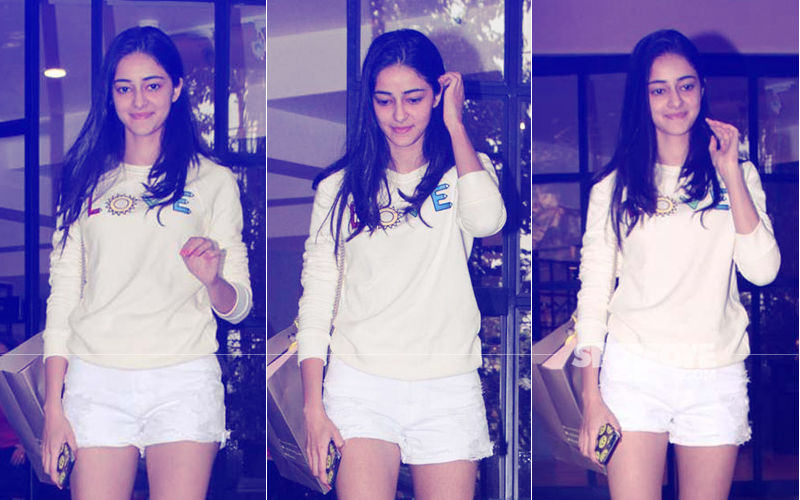 Ananya Panday Goes Shopping And Makes Heads Turn