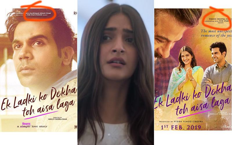 'एक लड़की को देखा तो ऐसा लगा' के नए पोस्टर्स से  राजकुमार हिरानी का नाम गायब