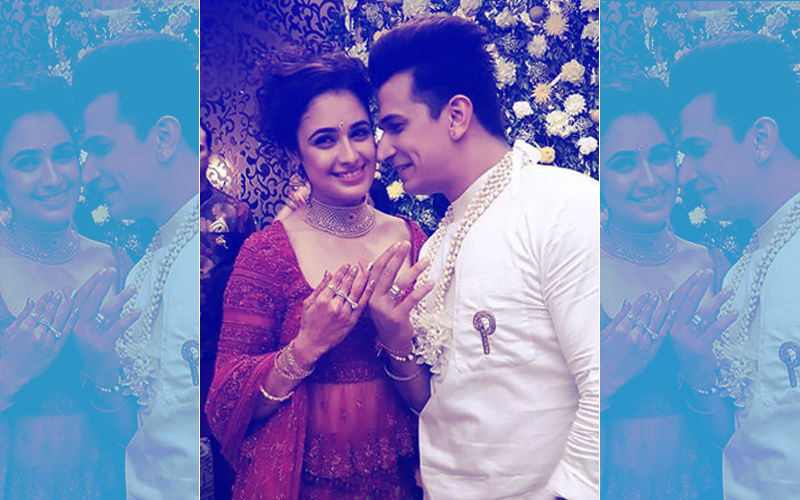 Prince Narula-Yuvika Chaudhary Engagement: Couple Looks Madly In Love As They Exchange Rings
