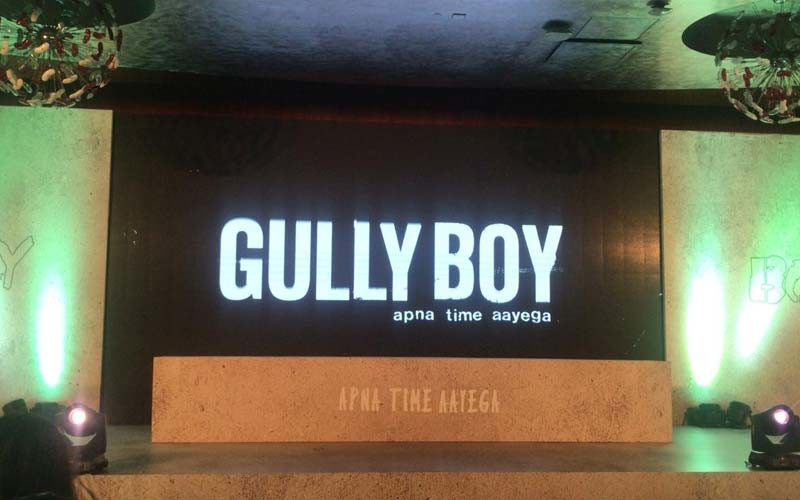Gully Boy Trailer Launch