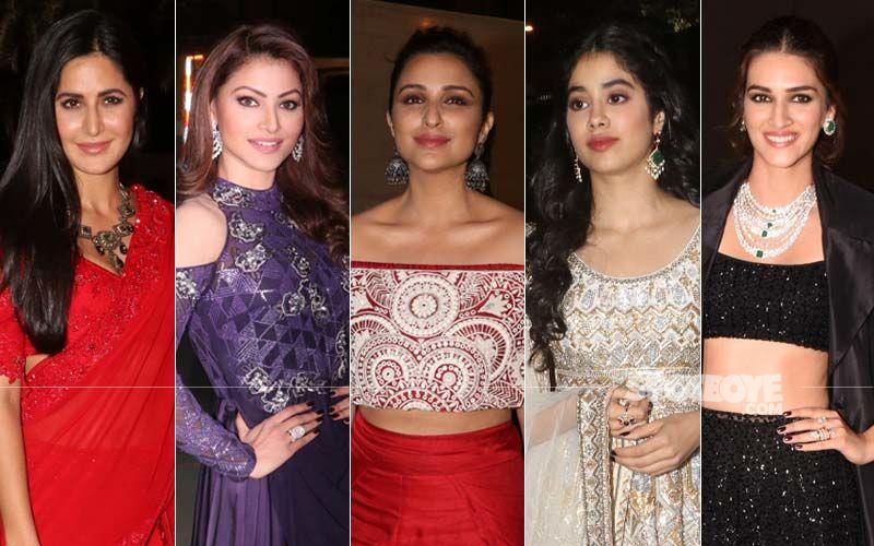 BEST DRESSED & WORST DRESSED At Umang 2019: Katrina Kaif, Urvashi Rautela, Parineeti Chopra, Janhvi Kapoor Or Kriti Sanon?