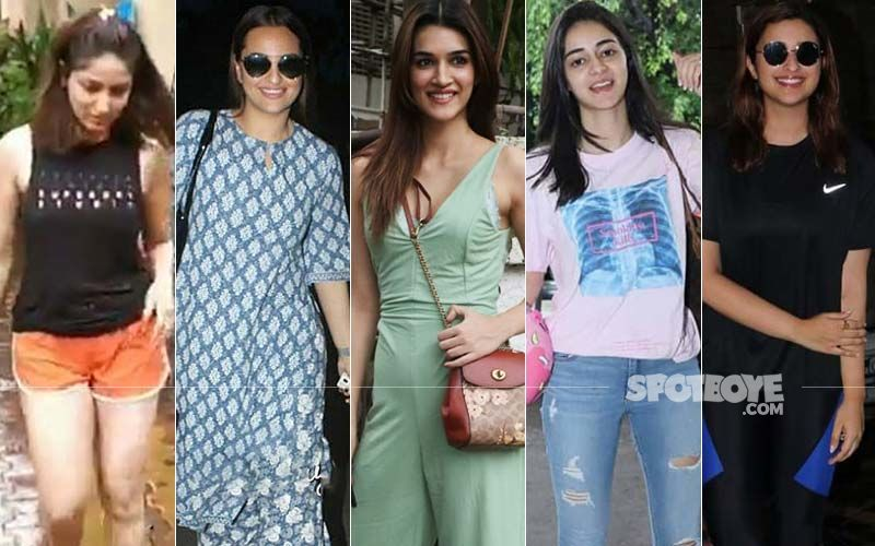 STUNNER OR BUMMER: Yami Gautam, Sonakshi Sinha, Kriti Sanon, Ananya Panday Or Parineeti Chopra?