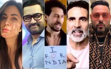 I For India: Katrina Kaif, Aamir Khan, Tiger Shroff, Akshay Kumar, Badshah Sing, Dole Messages; Raise Rs 1.5 Cr