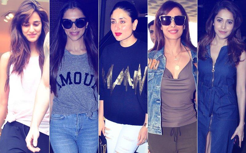STUNNER OR BUMMER: Disha Patani, Deepika Padukone, Kareena Kapoor, Malaika Arora Or Nushrat Bharucha?
