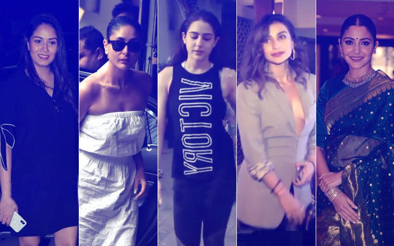 STUNNER OR BUMMER: Mira Rajput, Kareena Kapoor, Sara Ali Khan, Patralekha Or Anushka Sharma?