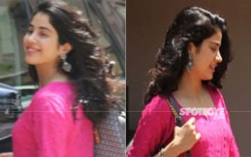 Natural Hair, Comfortable Outfit And Flats, Janhvi Kapoor Is Every Girl On A Hot Summer Day!