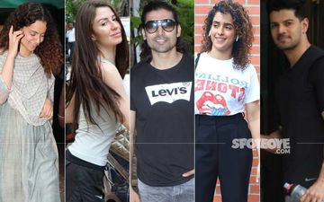 Celeb Spotting: Kangana Ranaut, Giorgia Andriani, Gurmeet Chaudhary, Sanya Malhotra and Suraj Pancholi Ace The Casual Look