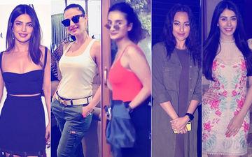 STUNNER OR BUMMER: Priyanka Chopra, Ameesha Patel, Patralekha, Sonakshi Sinha Or Warina Hussain?