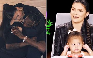 Wait What- Kylie Jenner Reveals Travis Scott Smells Like Fresh Shower And 'Weed', Baby Stormi Shuts Her Ears-TB VIDEO