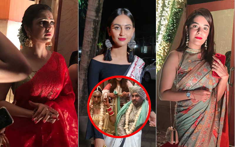 Additi Gupta's Friends Drashti Dhami, Krystle D'Souza, Pooja Gor Join The Wedding Revelry