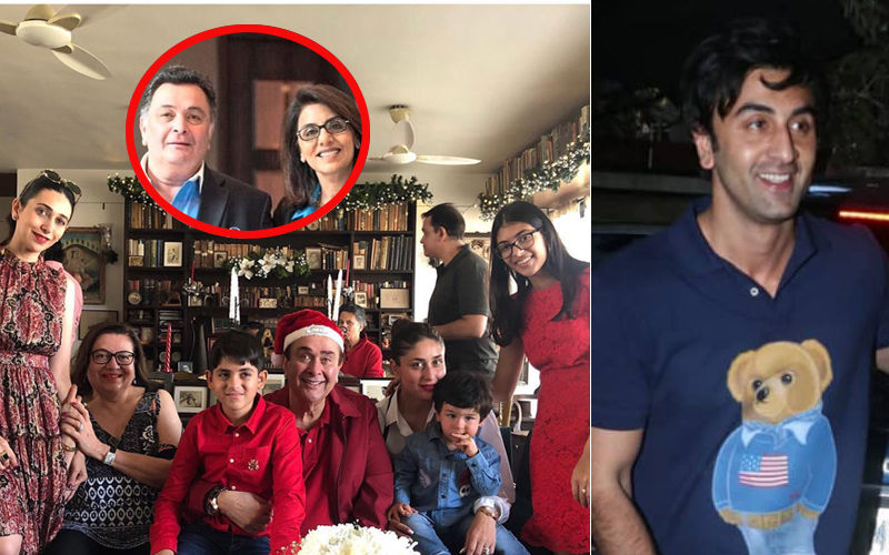 Inside Kapoors' Christmas Lunch: Ranbir, Kareena, Karisma, Taimur Get Together; Rishi-Neetu Were Missed