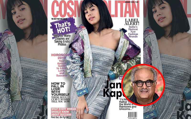 Janhvi Kapoor's Got A Chic Haircut But Is Scared To See Her Father's Reaction