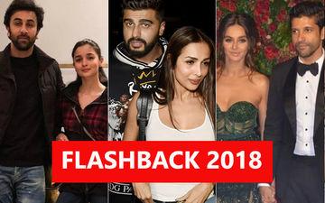 Love Affairs Of 2018: Ranbir Kapoor-Alia Bhatt, Malaika Arora-Arjun Kapoor, Farhan Akhtar-Shibani Dandekar- Bollywood's New Sweethearts!