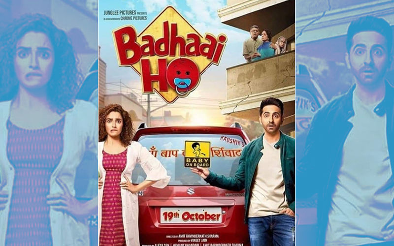 Ayushmann Khurrana-Sanya Malhotra Starrer Badhaai Ho Becomes 10th 100Cr Film Of 2018