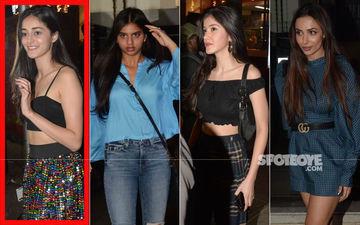 Ananya Panday Birthday Bash: Suhana Khan, Shanaya Kapoor, Malaika Arora Celebrate