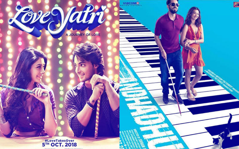 Andhadhun, LoveYatri Box-Office Collection, Day 1: Ayushmann Khurrana-Radhika Apte & Aayush Sharma-Warina Hussian Go Slightly Lazy
