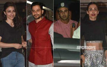 Soha Ali Khan-Kunal Kemmu Wedding Anniversary: Ranbir Kapoor, Malaika Arora, Tara Sutaria Celebrate At Saif- Kareena's Residence