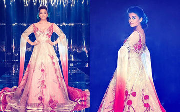 Drop Everything! Aishwarya Rai Bachchan Is Setting The Ramp On Fire In A Manish Malhotra Creation