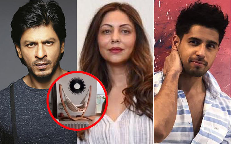 Shah Rukh Khan Accuses Sidharth Malhotra And Gauri Khan Of Stealing His Hammock