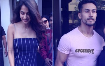 LOVE IS IN THE AIR: Tiger Shroff & Disha Patani Meet For Lunch