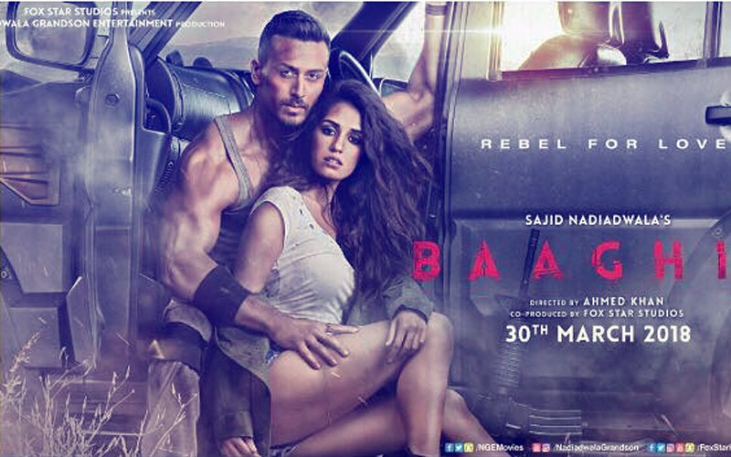 Tiger Shroff–Disha Patani's Love Story Lapped Up, Baaghi 2 Clocks Rs 155.7 Cr In 2 Weeks