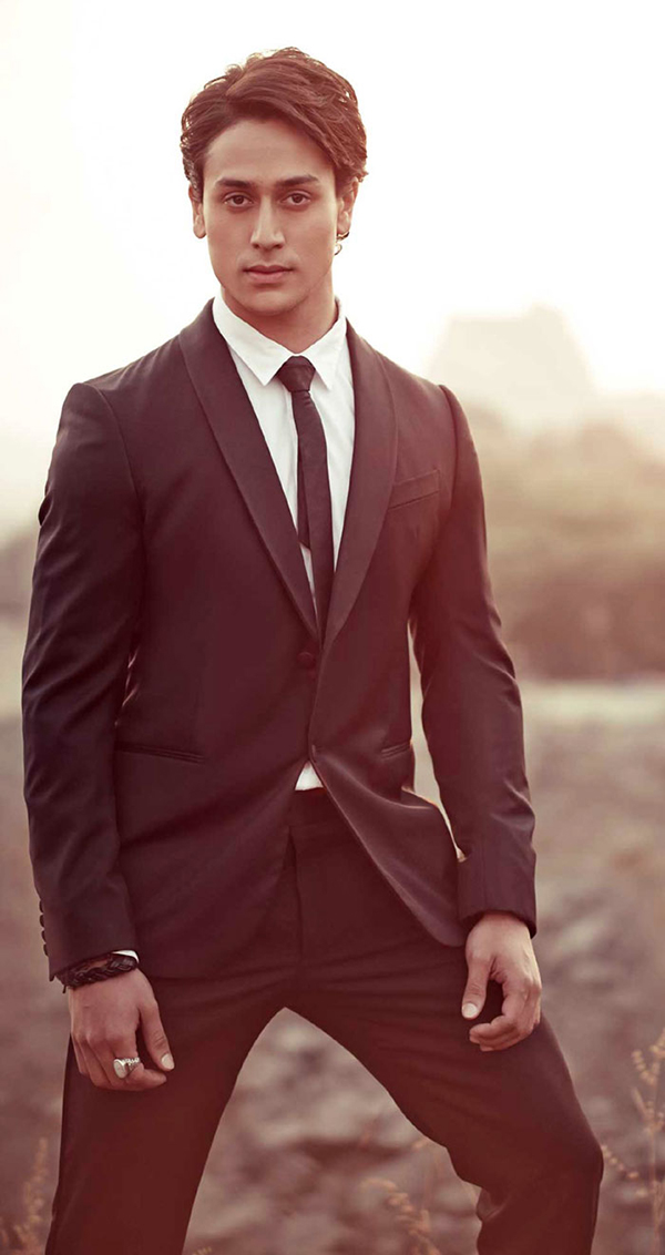 tiger shroff all suited up