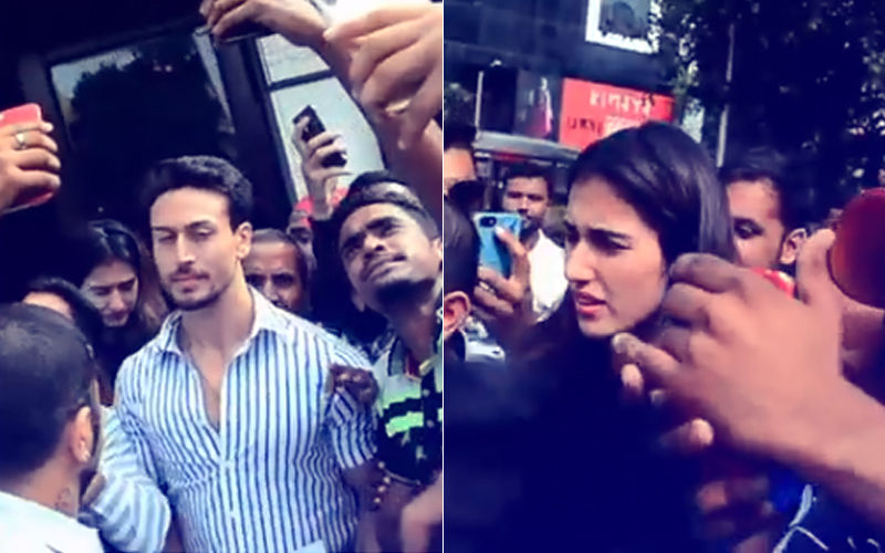 Why Did Tiger Shroff Leave Disha Patani Alone In A Mob? Watch Video