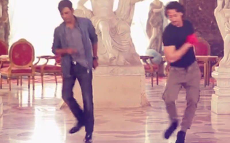 Tiger Shroff & Nawazuddin Siddiqui's Dance Rehearsals For Munna Michael