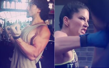 Workout Wednesday: Tiger Shroff Pumps It Up, Sunny Leone Sweats It Out