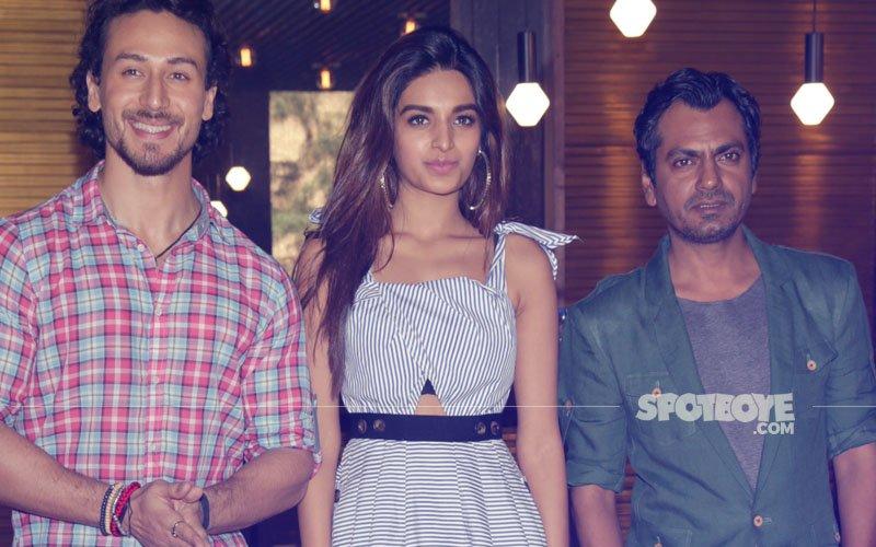 Tiger Shroff, Nidhhi Agerwal & Nawazuddin Siddiqui Promote Munna Michael In Delhi