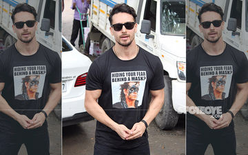 Tiger Shroff Wears His Idol, Hrithik Roshan's Krrish T-Shirt And Has A Message On It Too