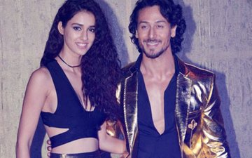 Tiger Shroff Enjoys A Date With Injured Girlfriend Disha Patani In Crutches!