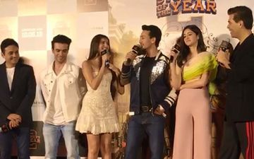 "Student Of The Year 2 Trailer Launch: Tara Sutaria Mocks Tiger Shroff's Shareef Image; Says, ""He Doesn't Reveal Many Things"""