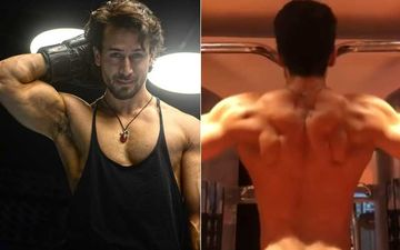 Tiger Shroff Sends Internet Into A Tizzy As He Flaunts His Flexes While Doing Pull-Ups – WATCH VIDEO