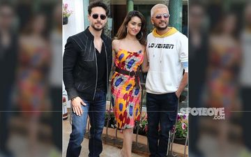 Baaghi 3 Promotions: Shraddha Kapoor-Tiger Shroff Make A Colour Splash; Riteish Deshmukh AKA Marathi Chris Brown Joins