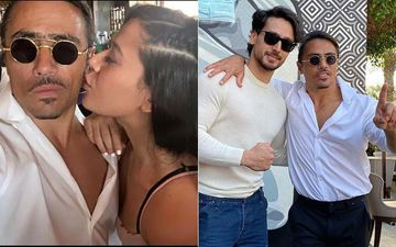Tiger Shroff Poses With Sister Krishna Shroff's New 'Bae', Heaps Praises On Him: 'So Inspiring Watching Your Craft Live'