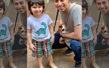Taimur Ali Khan Pairs Shorts With Juttis; Netizens Are Going Gaga Over His Adorably Mismatched Look