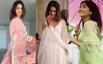 Jennifer Winget, Hina Khan and Shivangi Joshi: Who Rocks The Salwar Kameez Look?