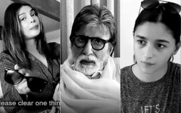 Ranbir Kapoor, Priyanka, Alia, Rajinikanth, Diljit Hunt For Amitabh Bachchan's Lost Glasses without Stepping Out; Spread Positive Message -VIDEO