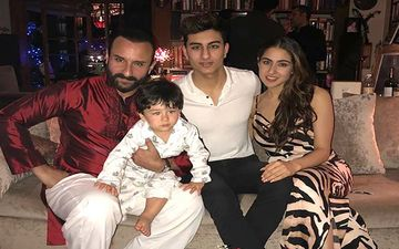 Father's Day 2020: Sara Ali Khan, Ibrahim Ali Khan And Taimur Ali Khan's Snapshots With Papa Saif Ali Khan Are The Coolest