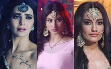 Naagins Karishma Tanna And Surbhi Jyoti Admit Mouni Roy Is A Better Naagin Than Them- WATCH VIDEO