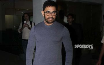 Laal Singh Chaddha Aka Aamir Khan Spotted On The Streets Of Mumbai